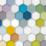 Honeycomb Structure Background 2 #Vector