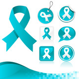 Blue Ribbons Awareness Kit