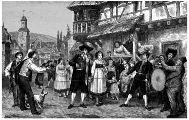 Trad. Alsacian Wedding - 19th century