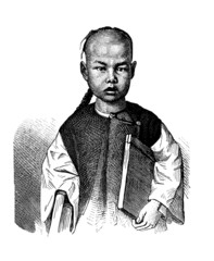 Nice Chinese Boy - 19th century