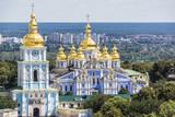 Saint Michael's Golden-Domed Cathedral in Kyiv, Ukraine, Europe. - Fine Art prints