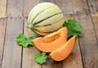 Reife Melonen