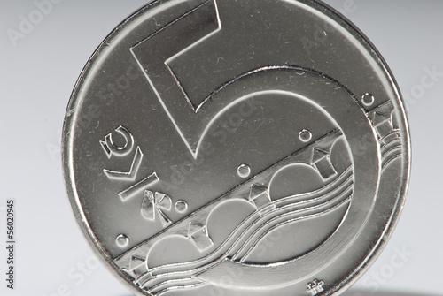Fünf Kronen Münze