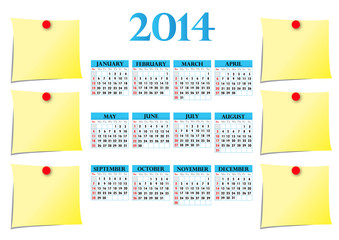 Save the dates of 2014!