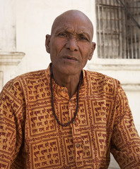 India, Rajasthan, Pushkar, indian man