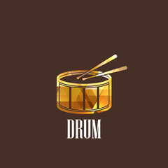 illustration with the diamond drum icon