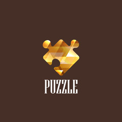 illustration with a diamond puzzle icon