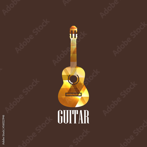 illustration with the diamond guitar icon