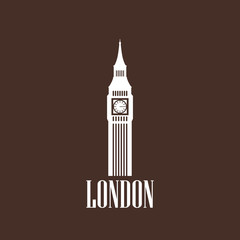 illustration with the big ben icon