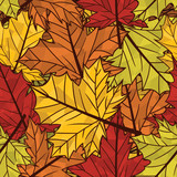 Autumn seamless pattern