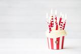 Fototapety Birthday cupcake
