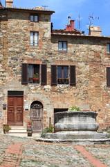 Castiglione d' Orcia in Tuscany