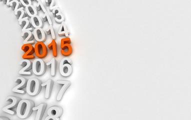 2015 - Rappresentazione anni che passano