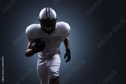 canvas print picture American Football Running