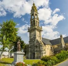 Église Saint-Sauveur du Faou, Bretagne