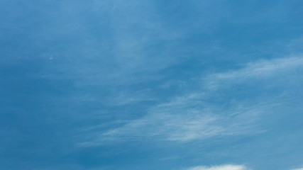 Sky and Thin Clouds 1