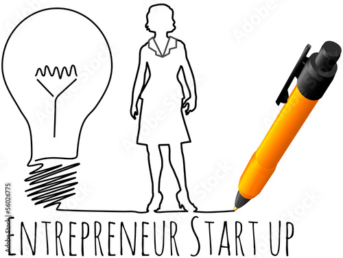 Female entrepreneur business start up