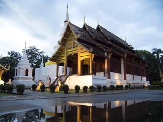 Wat Phra Singh Woramahaviharn, Chiangmai Thailand