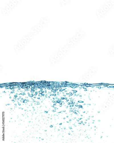 conceptual splashing water or beverage, ocean or a river
