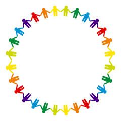 絆と平和のサークル