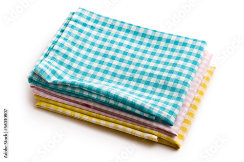 various kitchen towels