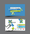 Vector Stander Business Card Set