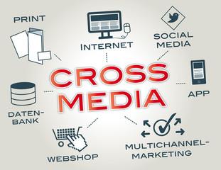 Crossmedia Concept, Infografik