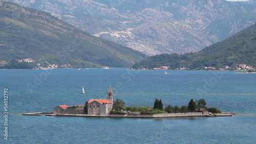 "view of the Bay of Kotor (""Boka Kotorska""), Montenegro"