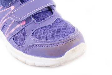 brand old purple sneakers