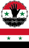 violation of human rights in Syria poster