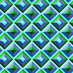 Geometric  square pattern  seamless