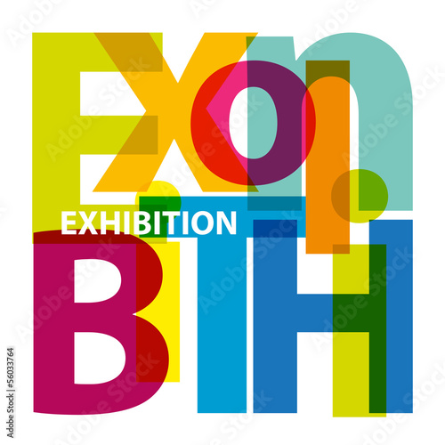 Vector Exhibition. Broken text