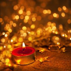 Advent - stimmungsvolles Kerzenlicht