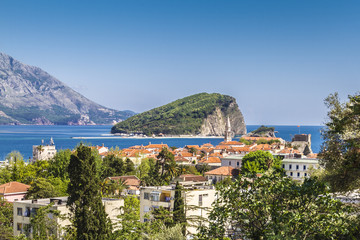 Budva - one of best preserved medieval cities in Mediterranean
