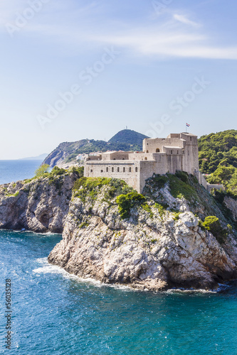 Lovrijenac Fort. Dubrovnik - UNESCO World Heritage Site. Croatia