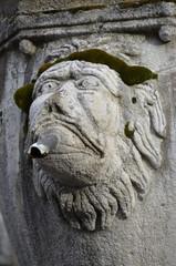 Particolare di una fontana, Viterbo