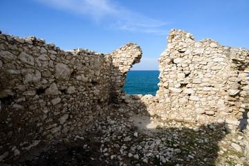 ruderi sulla costa garganica - Gargano - Puglia - Italy