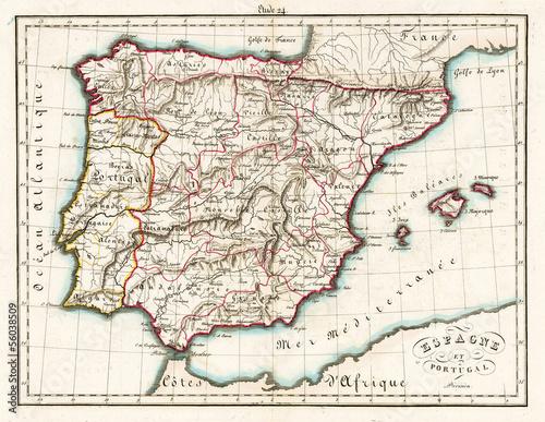 In de dag Retro Old Spain