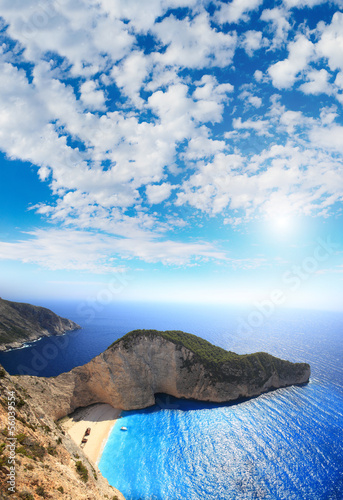 Aerial view on Zakynthos