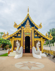Buddhism temple in Chiangmai, Thailand