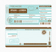 Boarding Pass Wedding Invitation Template - 56042930