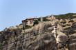 Греция. Метеоры. Монастырь на скалах