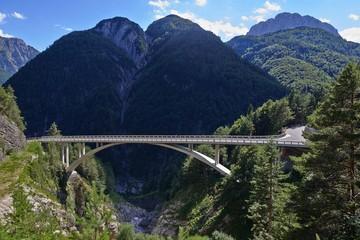 Predel Viaduct Slovenian Alps