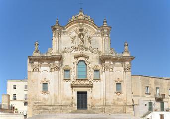 Matera - chiesa di San Francesco D'Assisi