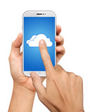 Hand Hold and Touch on Mobile Cloud computing Network
