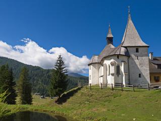 Kirche Hl. Johannes auf der Flattnitz / Kärnten