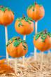 Pumpkin cake pops