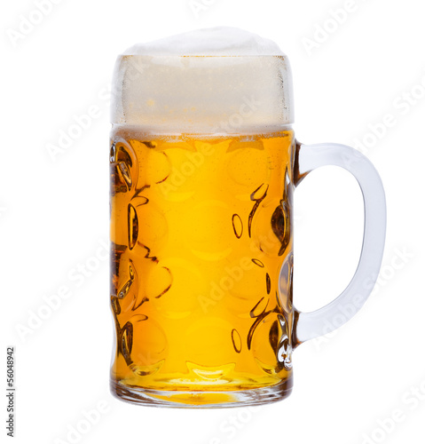 canvas print picture Maß Bier
