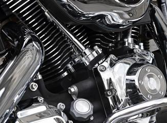 Motorbike closeup