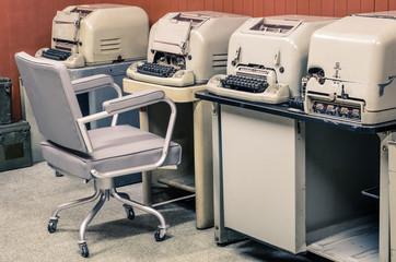 Vintage Teletype Typewriter